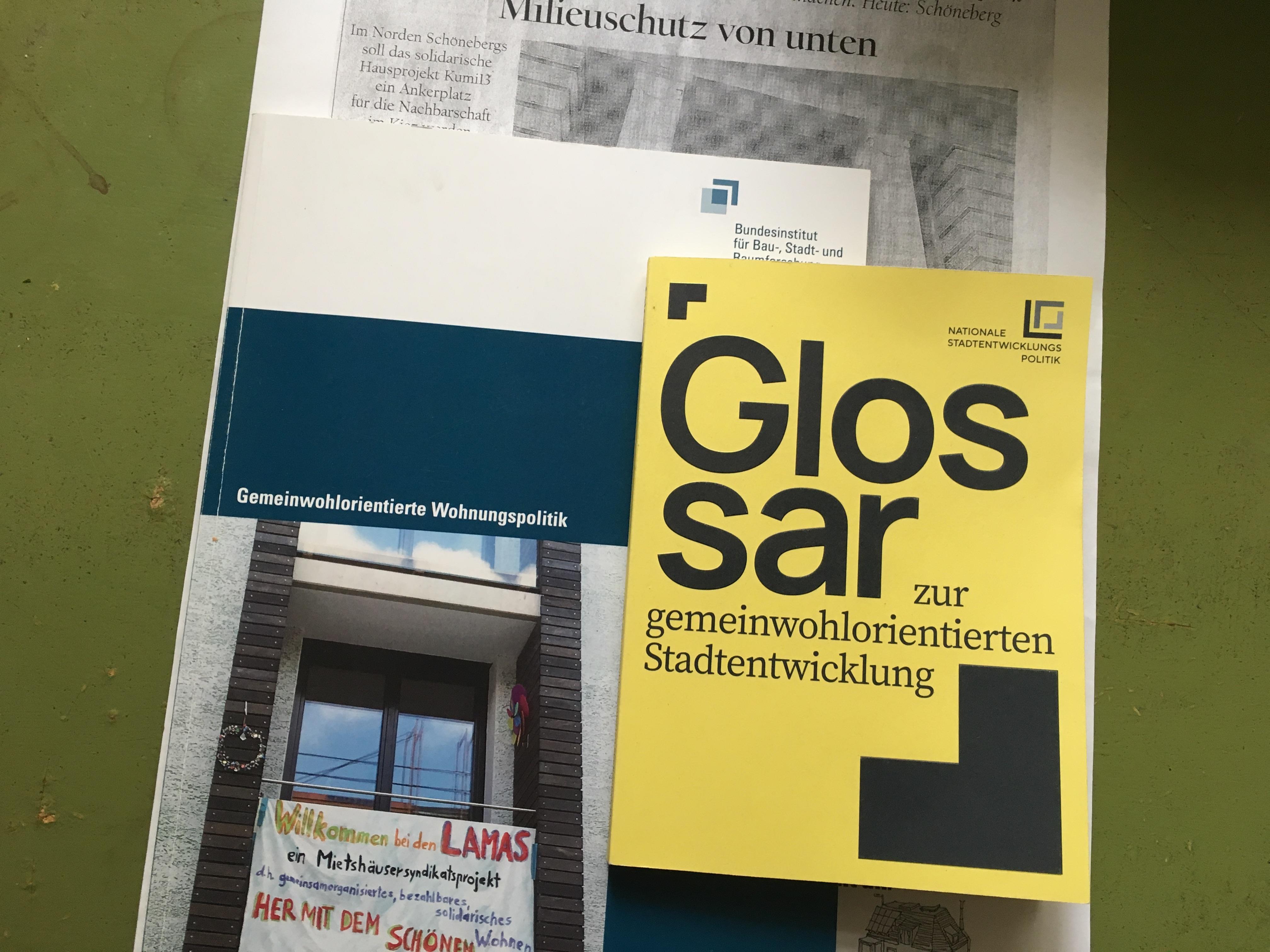 BBSR-Broschüren erklären das Mietshäuser Syndikat